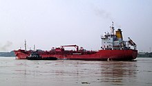 A Ship in Hoogly River.jpg