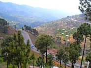 A beautiful view of Murree, Pakistan