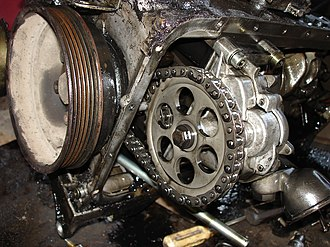 Mercedes-Benz OM601 engine - Image: A close view of OM601 diesel engine oil pump