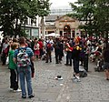 A juggler entertains the crowds in Covent Garden - geograph.org.uk - 890844.jpg