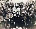 A katonák közt Szeleczky Zita színművésznő. Fortepan 101034.jpg