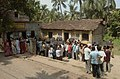 A long queue at a polling booth in 3rd phase of West Bengal Assembly Election-2006 at Belgharia in North 24 Pargana, West Bengal on April 27, 2006.jpg