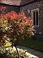 A quiet corner, St Nicholas church, Shepperton. - panoramio.jpg
