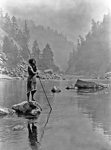 A smoky day at the Sugar Bowl - Hopa fisherman