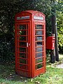 A telephone and post box at Nuthurst West Sussex England.jpg