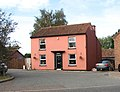 A very pink house - geograph.org.uk - 1541848.jpg