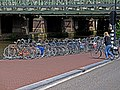 A view on the old train-bridge on the east side of Central Station Amsterdam; high resolution photo by FotoDutch, June 2013.jpg