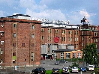 Aalborg - Akvavit was a major export.