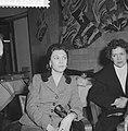 Aankomst Bolshoi solisten op Schiphol, Raissa Strouchkov tijdens persconferentie, Bestanddeelnr 911-7195.jpg