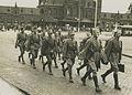 Aankomst van een detachement Nederlandse militairen van het dienstvak der Milita – F40236 – KNBLO.jpg