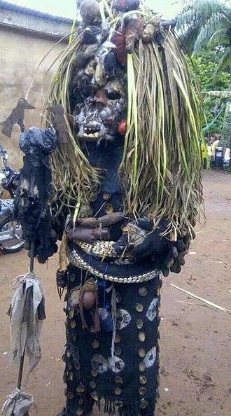 Anambra State - Abagana, Anambra State masquerade, Full