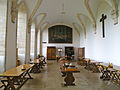 Abbaye de Mondaye - Réfectoire 01.JPG