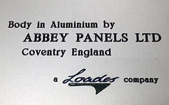 Abbey Panels - Image: Abbey Loades Plack