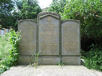 Theodore Kitching - The grave of Theodore Kitching in Abney Park Cemetery