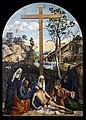 Accademia - Compianto sul Cristo morto con Giuseppe d'Arimatea, la Vergine e la Maddalena, tra s. Marta e Filippo Benizi di Giovanni Bellini.jpg