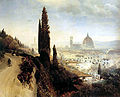 Achenbach, Oswald - View of Florence witk look at the cathedral (1883).jpg