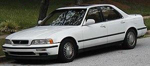 Acura Legend - 1991-1993 Acura Legend sedan