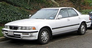 Honda Vigor Motor vehicle