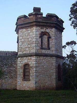 Adelaide Gaol -  Adelaide gaol tower