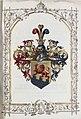 Adelsdiplom - Gurniak von Schreibendorf 1869 - Wappen.jpg