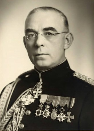 Swedish Security Service - Lt Col Adlercreutz, credited with the formation of the General Security Service in 1938