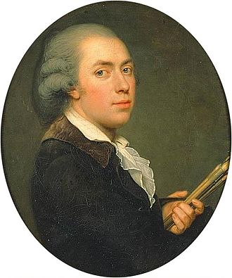 Adolf Ulrik Wertmüller - Self portrait, (ca. 1795-1800)