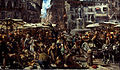 Adolph Menzel - Piazza d'Erbe in Verona - Google Art Project.jpg