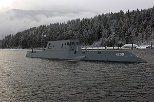 Carderock Division of the Naval Surface Warfare Center - The Advanced Electric Ship Demonstrator, a project of the Naval Surface Warfare Center Carderock Division, Acoustic Research Detachment in Bayview, Idaho.