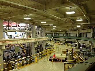 Advanced Light Source - View of various beam lines from the ALS overlook