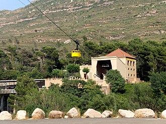 Aeri de Montserrat - Aeri de Montserrat cable car