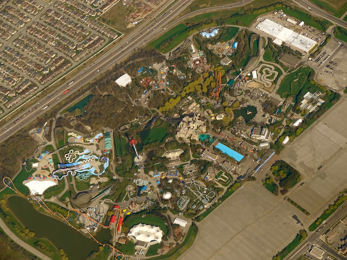 List of Canada's Wonderland attractions - Wikipedia