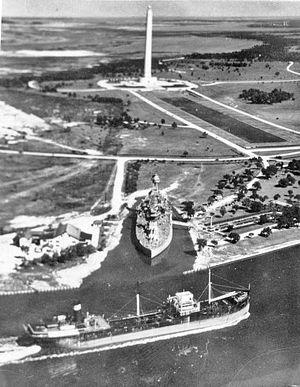 San Jacinto Monument - Aerial View San Jacinto Monument