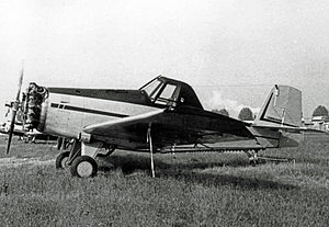 Ayres Thrush - Aero Commander S-2D exhibited at the 1967 Paris Air Show