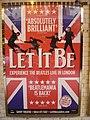 """Affiche """"Let it be"""" in London P1010778.jpg"""