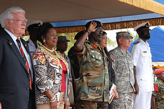 Chief of the Defence Staff (Ghana) - Image: Africa Endeavor 2010 (4920498274)