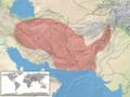 Agamura persica distribution.png