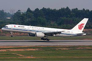 Air China Boeing 757 Jordan.jpg