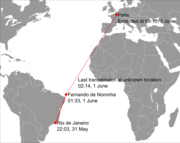 Air France Flight 447 path.png