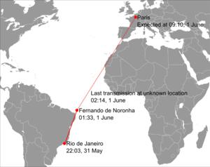 Talk:Air France Flight 447/Archive 1 - Wikipedia