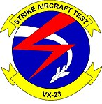 Air Test and Evaluation Squadron VX-23 (insignia).JPG