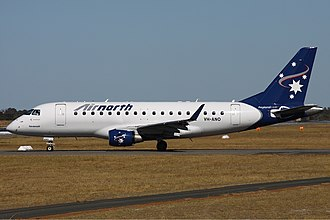 Airnorth - Airnorth Embraer 170 at Perth Airport