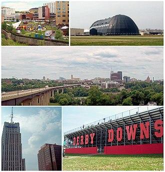 Akron, Ohio - Image: Akron Ohio Sky
