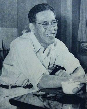 Takeo Akuta - Takeo Akuta in 1956