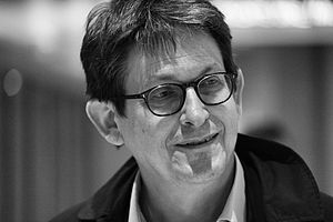 Alan Rusbridger - Rusbridger at the 2014 International Journalism Festival