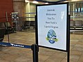Albany-Rensselaer Rail Station - Concourse Amtrak Welcome Sign.jpg