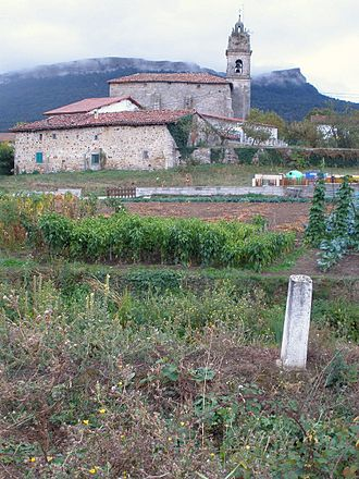 Albéniz, Álava - View of the Albeniz church