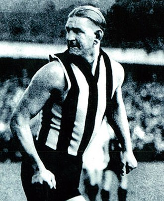 Albert Collier - Collier during his Collingwood career