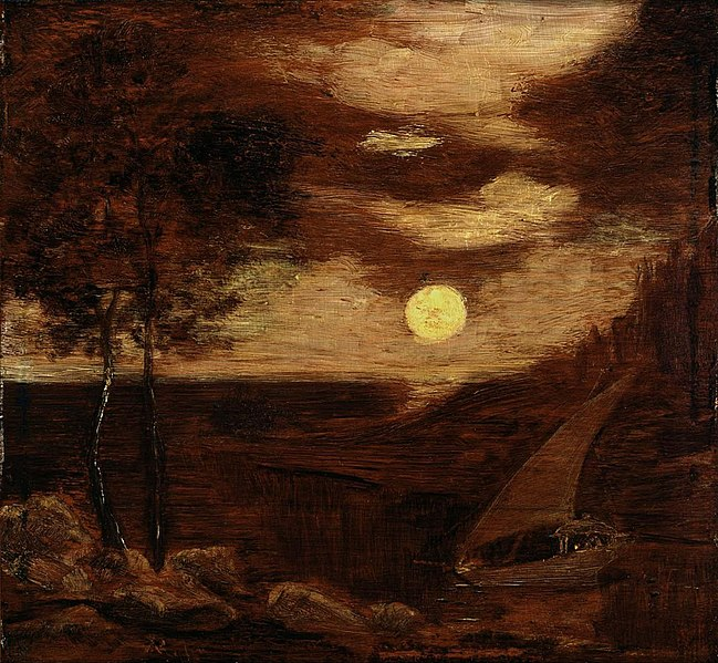 File:Albert Pinkham Ryder - The Lovers' Boat (c.1881).jpg