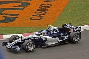 Williams FW28 - Image: Alex Wurz Canada 2006