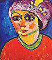 Alexej von Jawlensky - Der violette Turban.jpg